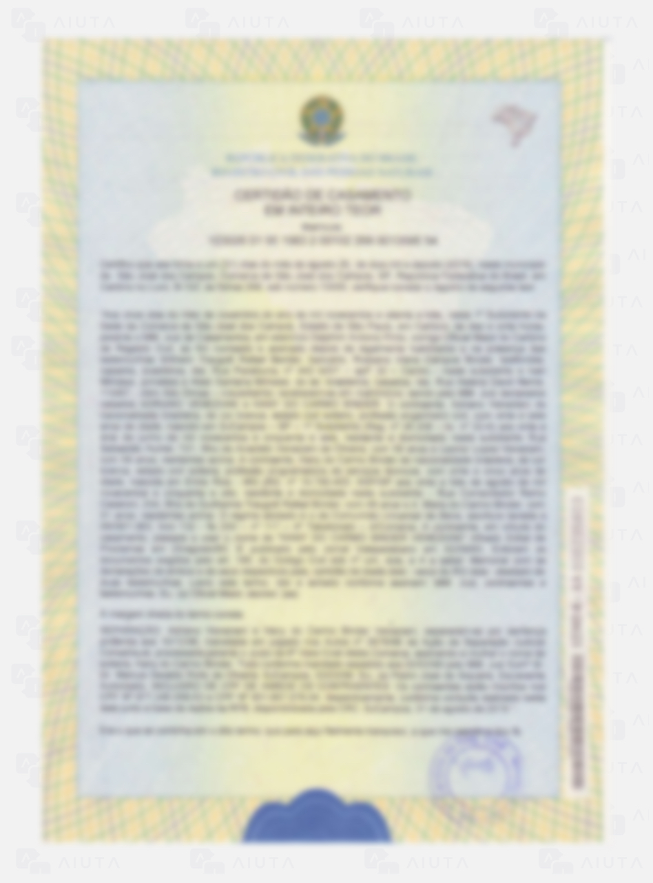 Exemplo de custos para traduzir um processo de Cidadania Italiana - AIUTA